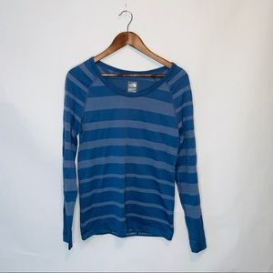 The North Face Stripped Long Sleeve Top